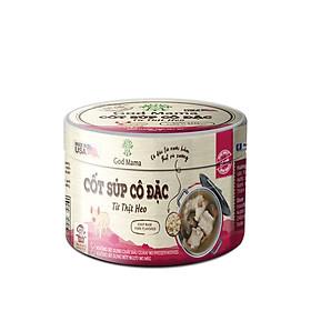 Cốt súp cô đặc - Từ thịt heo - Nấu nước dùng heo tiện lợi - Hũ 200gr - Tiêu chuẩn FDA, không bột ngọt, không chất bảo quản, tốt cho sức khỏe, sản phẩm bán chạy số 1 tại Mỹ