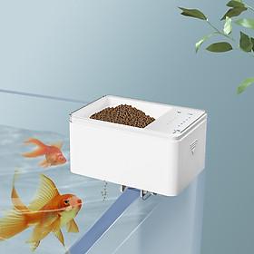 Automatic Fish Feeder Smart Digital Fish Food Dispenser Timer Fish Feeder 70ml Battery Operated Auto Feeding for Fish