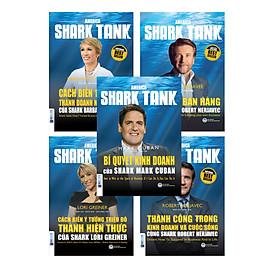 COMBO HUẤN LUYỆN KINH DOANH CÙNG AMERICA SHARK TANK (BỘ 5 CUỐN)