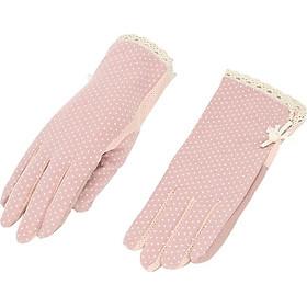 găng tay chống nắng xuất Nhật:chống tia UV,cảm ứng được điện thoại,có hạt chống trơn