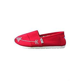 Giày Vải Nữ Kaki Xương TS12 - Đỏ