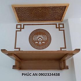 Chỉ bàn thờ treo tường, tủ thờ, án gian thờ cúng & Mua kèm với tấm chống ám khói để trang trí đẹp chuẩn hời luôn