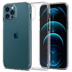 Ốp Lưng Dành Cho iPhone 12 & 12 Pro / iPhone 12 Pro Max Spigen Crystal Hybrid - Hàng Chính Hãng