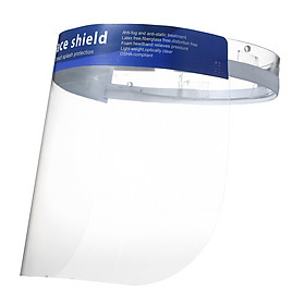 10Pcs/Pack Disposable Safety Medical Face Shield Fluid Resistant Full Face Mask Transparent Single Use Surgical Mask