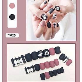 Bộ 24 móng tay giả nail thơi trang như hình (Y25)