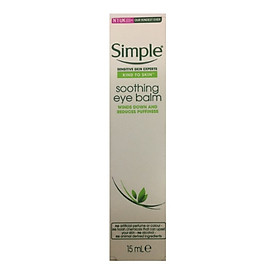 Kem mắt Simple Revitalising Eye Soothing Eye Balm (15ml)
