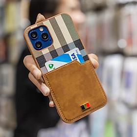 Ốp lưng iPhone 12 Pro Max Mentor nhét thẻ - Hàng chính hãng