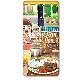 Ốp lưng dành cho điện thoại NOKIA 3.1 Plus Hình Cơm Tấm Sài Gòn - Hàng chính hãng