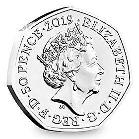 Siaonvr United Kingdom 50 PENCE 2019 ELIZABETH Commemorative COINS