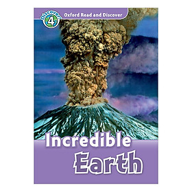 Oxford Read and Discover 4: Incredible Earth Audio CD Pack
