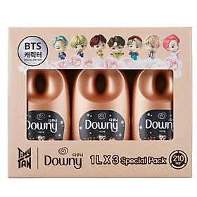 Downey Adorable x BTS Tinytan 1L x 3 pieces