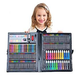 Hộp Bút Chì Màu 168 Món Cho Bé