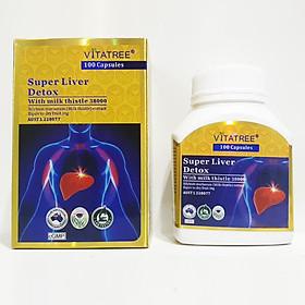 VITATREE - Viên Uống Bổ Gan Giải Độc Gan - Super Liver Detox - 100 Viên