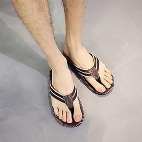 Men's Sandals Flip-Flop Slipper Shoes Anti-Slip EVA Flip Flops Flat Shoes with Comfortable Footbed for Outdoor Indoor