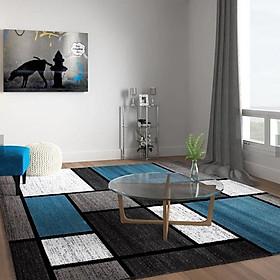 Nordic Stylel Geometric Pattern Floor Mat Carpet for Living Room Sofa Tea Table