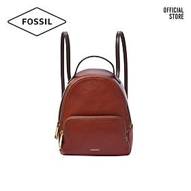 Balo nữ nhỏ thời trang Fossil Felicity Mini Backpack SHB2407213 - màu nâu