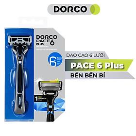 Dao Cạo Râu 6 Lưỡi Dorco Pace 6 Plus SXA 5001-PT (6 Lưỡi + Đầu Cắt Tóc Mai)