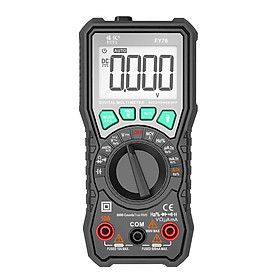 FUYI Digital Multimeter 6000 Count Intelligent Manual Automatic Range Universal Meter AC DC Resistance Capacitance