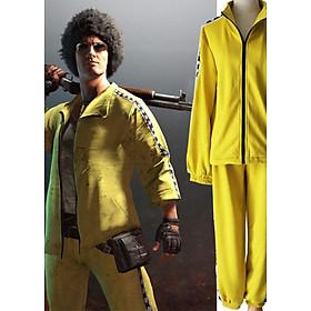 Bộ quần áo pubg vàng