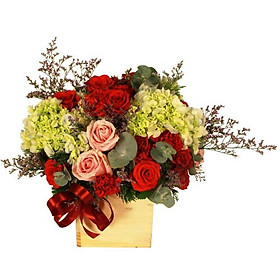 """Hộp hoa tươi - Hộp Hoa """"Cảm Xúc"""" 4035"""