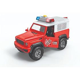 Đồ chơi mô hình VECTO Xe Jeep cứu hoả 666-26P