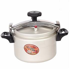 Nồi Áp Suất Cơ Anod Nhôm Đáy Từ Dùng Mọi Bếp Living Cook LC-AS20 (20cm - 4 lít) - Chính Hãng