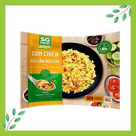 Cơm Chiên Hải Sản Ngũ Sắc SG Food Túi 250g