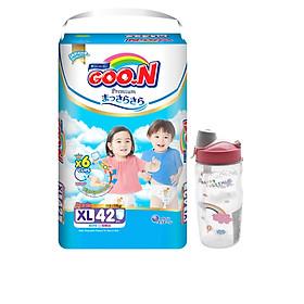 Tã Quần Goo.n Premium Gói Cực Đại XL42 (42 Miếng) - Tăng bình uống nước có ống hút cho bé-0