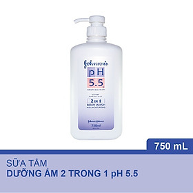 Sữa Tắm pH 5.5 Johnson's 2in1 (750ml) - 9556006008348