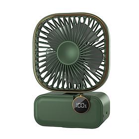 Multifunctional Oscillating Fan Type C Chargeing Port Design/ 3 Levels Adjustable Speed/ Foldable Design/ Cell V-olume