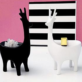 Cặp hưu cách điệu trắng đen - HCĐTĐ81
