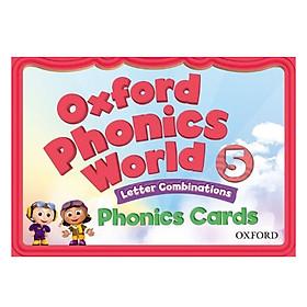 Oxford Phonics World Level 5 Phonics Cards
