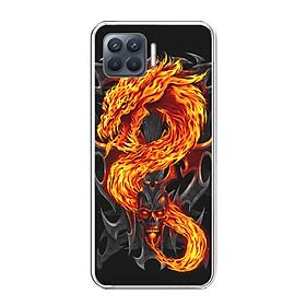 Ốp lưng dẻo cho điện thoại OPPO A93 - 0218 FIREDRAGON - Hàng Chính Hãng