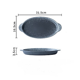Fish Plate Ceramic Steamed Fish Plate Creative Fish Plate Household Chopped Pepper Fish Head Special Plate New Large Fish Plate