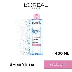 Nước tẩy trang L'Oreal Paris 3-in-1 Micellar Water 400ml
