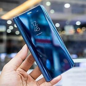 Bao da tráng gương cho Samsung Galaxy Note 8 nắp gập 2 mặt