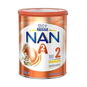 Sữa bột công thức NAN A2 Follow-On Stages 2 - Giai đoạn 2 cho bé (6-12) tháng tuổi