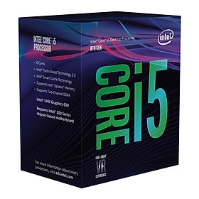 Bộ Vi Xử Lý CPU Intel Core i5 8400 4.00GHz 9M - Hàng Chính Hãng