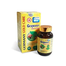 Viên uống hỗ trợ giảm Đường huyết và Mỡ máu GERMANY GOLD CARE Lọ 30 viên (Thực phẩm chức năng)
