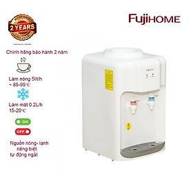 Cây nước nóng lạnh mini để bàn FUJIHOME WD5510E - Hàng chính hãng