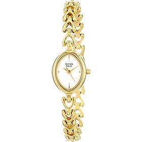 Titan Women's 2370YM01 Raga Inspired Gold Tone Watch