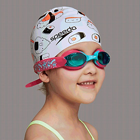 Speedo / speed ratio Ocean Q team infant swimming goggles code 812115D449 red / blue