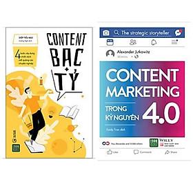 Combo 2 cuốn cẩm nang dành cho dân Content: Content Marketing Trong Kỷ Nguyên 4.0 + Content Bạc Tỷ