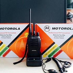 Máy bộ đàm Motorola 918 + Tai nghe chuyên dụng cho bộ đàm Motorola - Hàng nhập khẩu