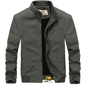 Áo Khoác Kaki Nam Hai Lớp Simple Cao Cấp ShopN6-KK35