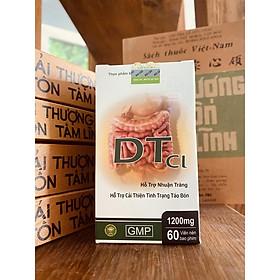 Thực phẩm bảo vệ sức khỏe DTCl hỗ trợ nhuận tràng, cải thiện tình trạng táo bón