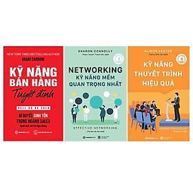 Combo 3 cuốn: Kỹ Năng Bán Hàng Tuyệt Đỉnh, Kỹ Năng Thuyết Trình Hiệu Quả, Kỹ Năng Mềm Quan Trọng Nhất