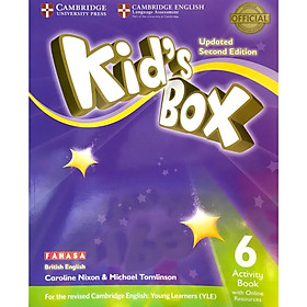 Kid's Box 2nd ed Activity Book with Online Resources Level 6