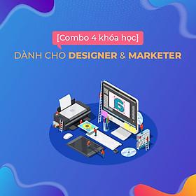Bộ 4 khóa học thiết kế đồ họa cho designer và marketer
