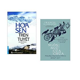 Combo 2 cuốn sách: Hoa Sen Trên Tuyết + Ngôn Ngữ Của Chúa